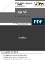 2-4. Eixos - Deflexão e Vibração Em Eixos