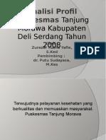 Analisis Profil Puskesmas Tanjung Morawa Deli Serdang
