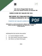 Informe Ish Puesto de Salud Lurinchincha (1)