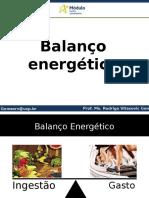 Aula 4 Balanço Energético