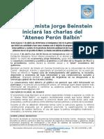 FP3M-04!04!16-Economista Beinstein en Ateneo Peron Balbin
