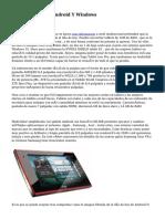 Comprar Tablets Android Y Windows