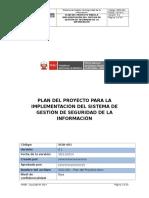 SGSI 001 Plan Del Proyecto