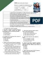 I Robot Worksheet