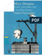 1986 - Douglas Mary - Como Piensan Las Instituciones