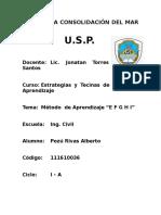 Informe Tecnicas de Estudio USP