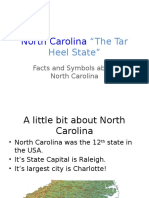 nc symbols and facts