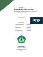 Analisis Komputasi Dan Numeris
