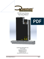 LS625 Laser System Manual
