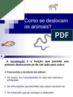 Locomocao Dos Animais 2015 2016