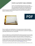 FUJITSU Tablet STYLISTIC And FUJITSU Tablet LIFEBOOK