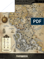 D&D 3rd Ed.-iron Kingdoms-Map