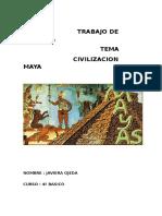 Los Mayas Trabajo de Historia