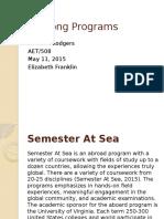lifelong programs