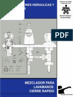 Instalaciones Hidráulicas y Sanitarias - Mezclador Para Lavamanos. Cierre Rápido 5