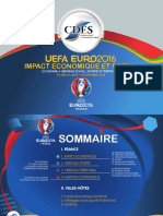 UEFA EURO 2016, Etude d'impact économique