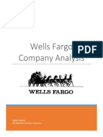 wells fargo company analysis