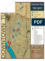 Downtown Tulsa Map