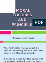 2. Moral Theories