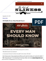 100 Skills Every Man Should Know _ the Art of Manliness