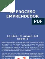 1.. El Proceso Emprendedor