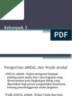 Ppt Adkl 1 - Wajib Amdal