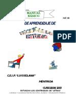 Manual de Tecnicas de  Estudio