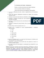 Estrutura de Dados - Revisão e Estudo Para P1