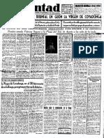 Periódico Voluntad, 15 de mayo de 1951