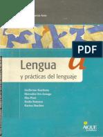Lengua y Practicas de Lenguaje