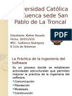 Exposición 1 - Ingeniería Del Software