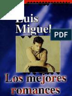 Partituras Los Mejores Romances - Luis Miguel 1