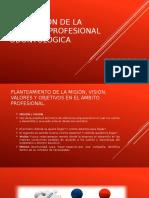 Unidad 3 planeación de La Práctica Profesional Odontológica