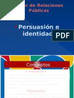 Persuacion e Identidad