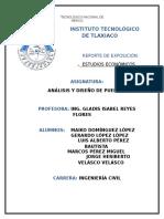 Reporte de Investigacion de Estudios. Economicos de Puentes word