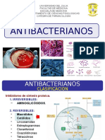 5ta Clase - Macrolidos, Clindamicina, Estreptograminas, Cloranfenicol, Linezolid. Dra. De Freitas