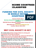 Funding for Civil Society in Middle Income Countries