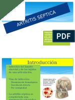 ARTRITIS SEPTICA TRAUMATOLOGIA