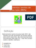 Medicamentos Isentos de Prescrição_patricia2014