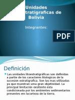Unidades Litoestratigraficas de Bolivia