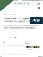 Trabalhando com expressões CASE e a Função IIF no T-SQL.pdf