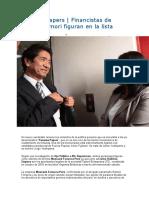 Panama Papers Financistas de Keiko Fujimori