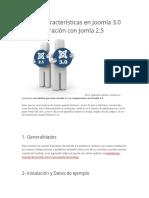 Nuevas características en Joomla 3