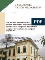 Manejo Paciente Pie Diabetico