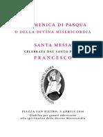 20160403 Libretto Domenica Divina Misericordia