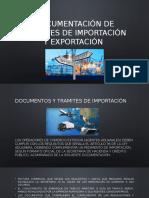Documentación de Tramites de Importación y Exportación