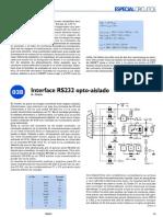 RS232 opto-aislado