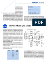 RS232 optoacoplador