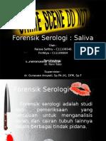 Referat Forensik Serologi Saliva