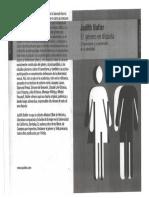 Prefacio de El Género en Disputa - Judith Butler
